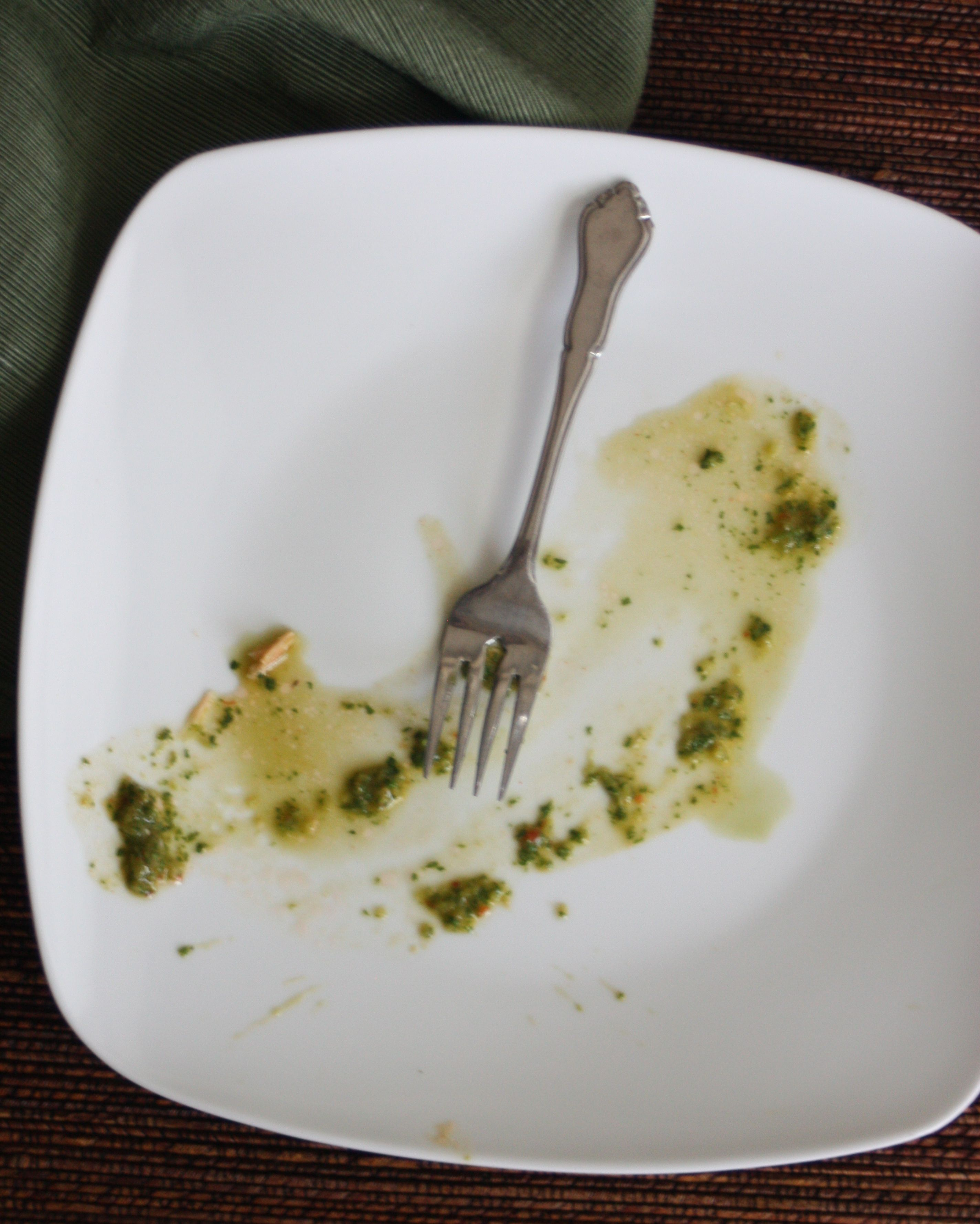 Cedar Plank Salmon with Spinach Chimichurri - Experimental ...