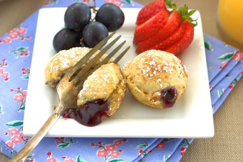 PBJ Pancake Puffs