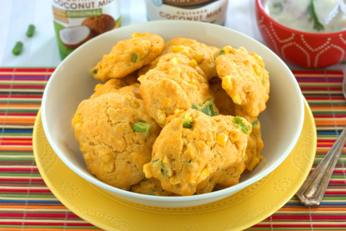 Curry Corn Fritters
