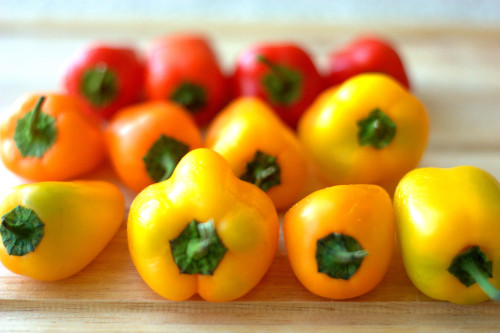 Mini Sweet Peppers
