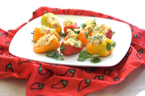 Stuffed Mini Sweet Peppers