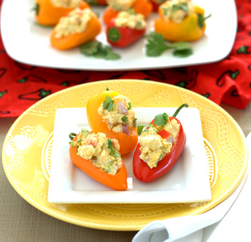 Stuffed Mini Sweet Peppers
