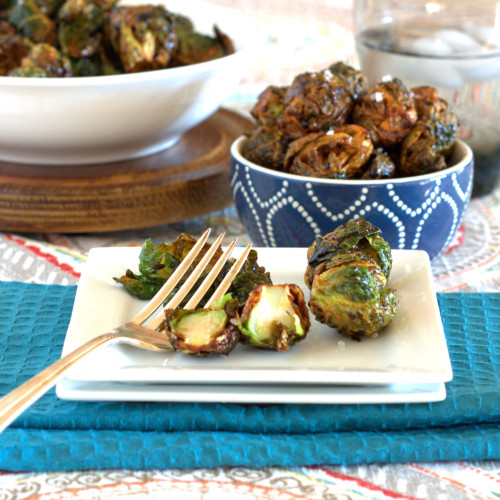 Flash Fry Brussel Sprouts