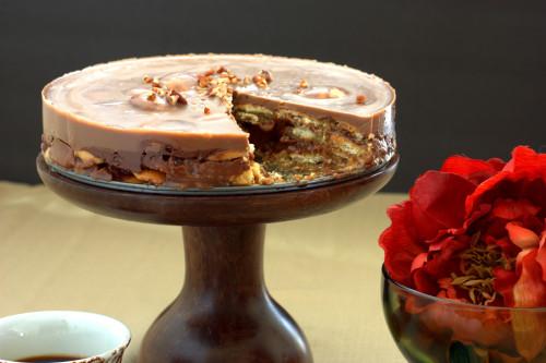 Turtle Icebox Cake
