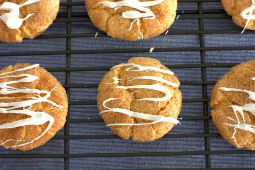 Carrot Cake Snickerdoodles