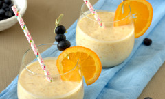 Orange Creamsicle Kefir Smootie
