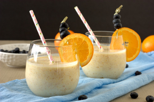 Orange Creamsicle Kefir Smoothie