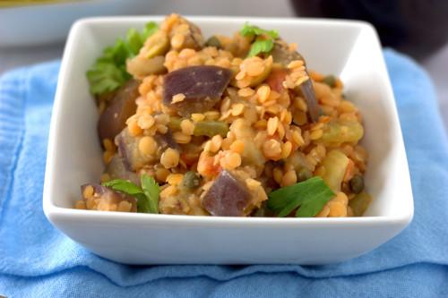 Caponata Lentil Salad3