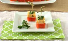 habanero watermelon skewers