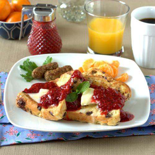 Raspberry Rhubarb Sauce2