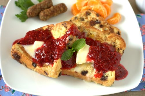Raspberry Rhubarb Sauce3