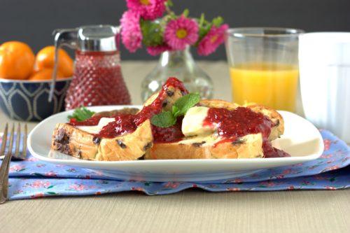 Raspberry Rhubarb Sauce