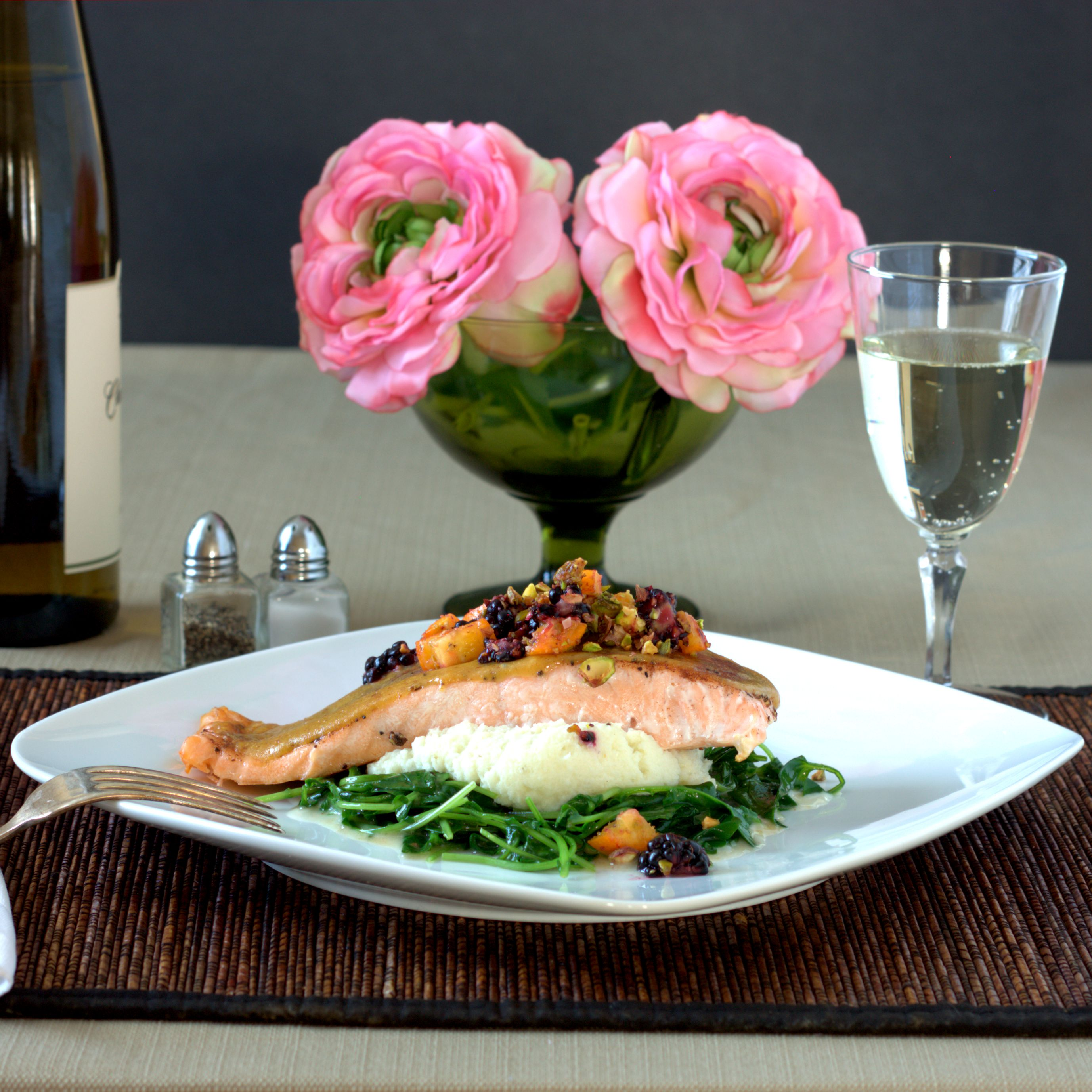 Apricot Ginger Salmon