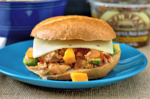 Chicken Tinga Sloppy Joes