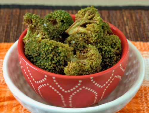 Flash Fried Broccoli