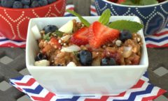 Farro and Mixed Berries Salad