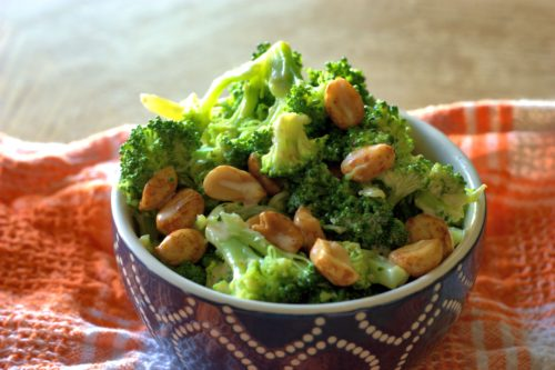 Sriracha Broccoli Salad