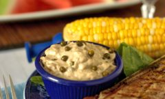 green peppercorn sauce