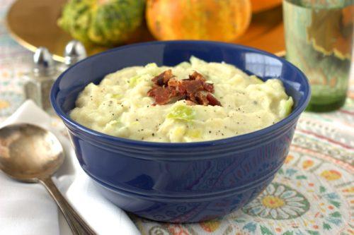 shortcut potato leek soup