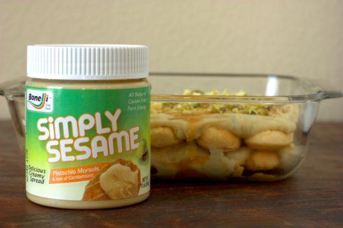 pistachio chai tiramisu