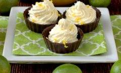 Lemon Ricotta Cheesecake Cups