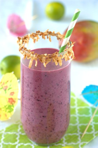 Wild Blueberry Smoothie