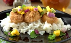 Coconut Crusted Sea Scallops