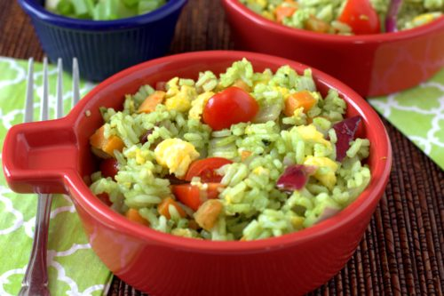 matcha fried rice