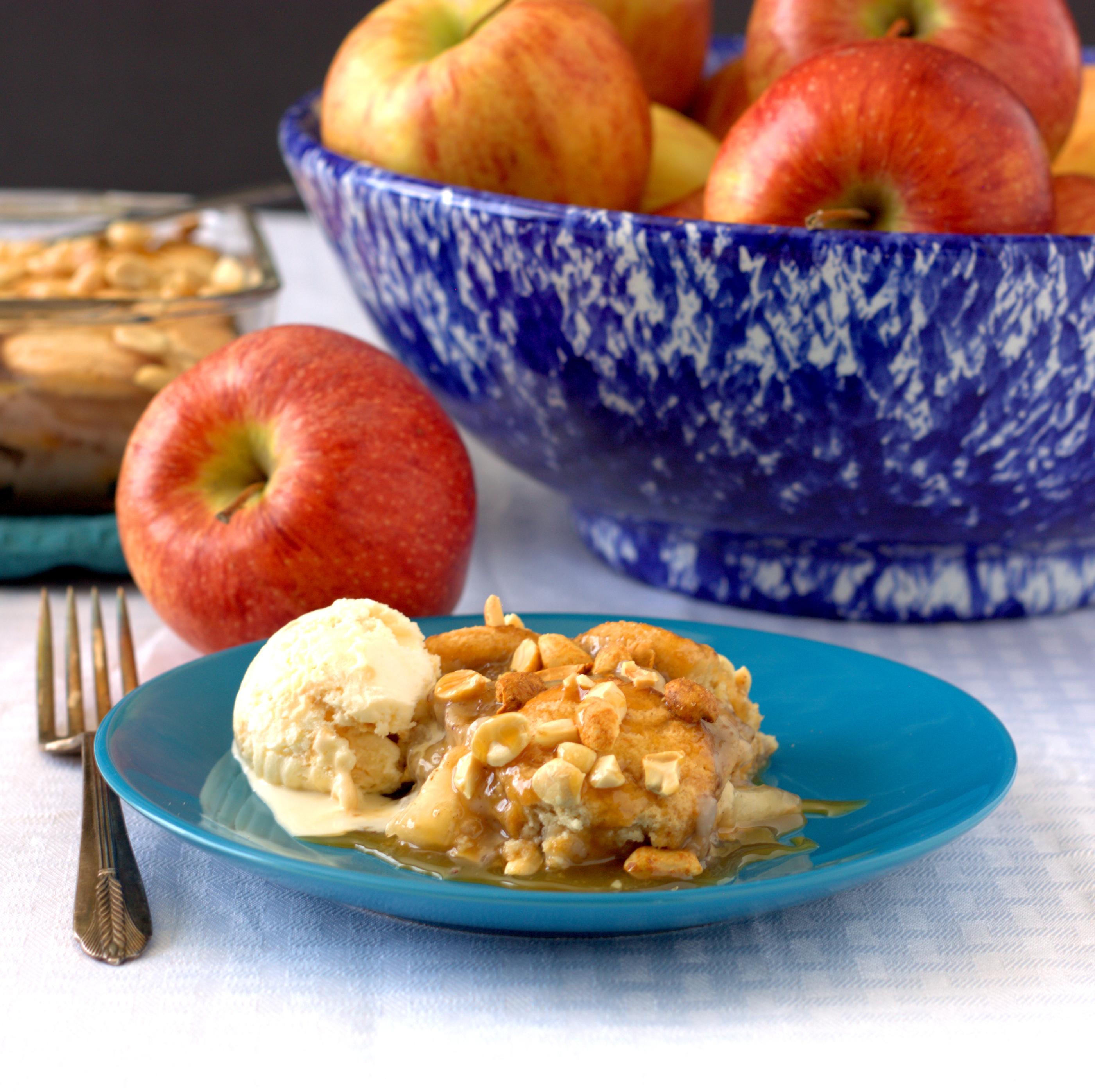 apple ice box cake