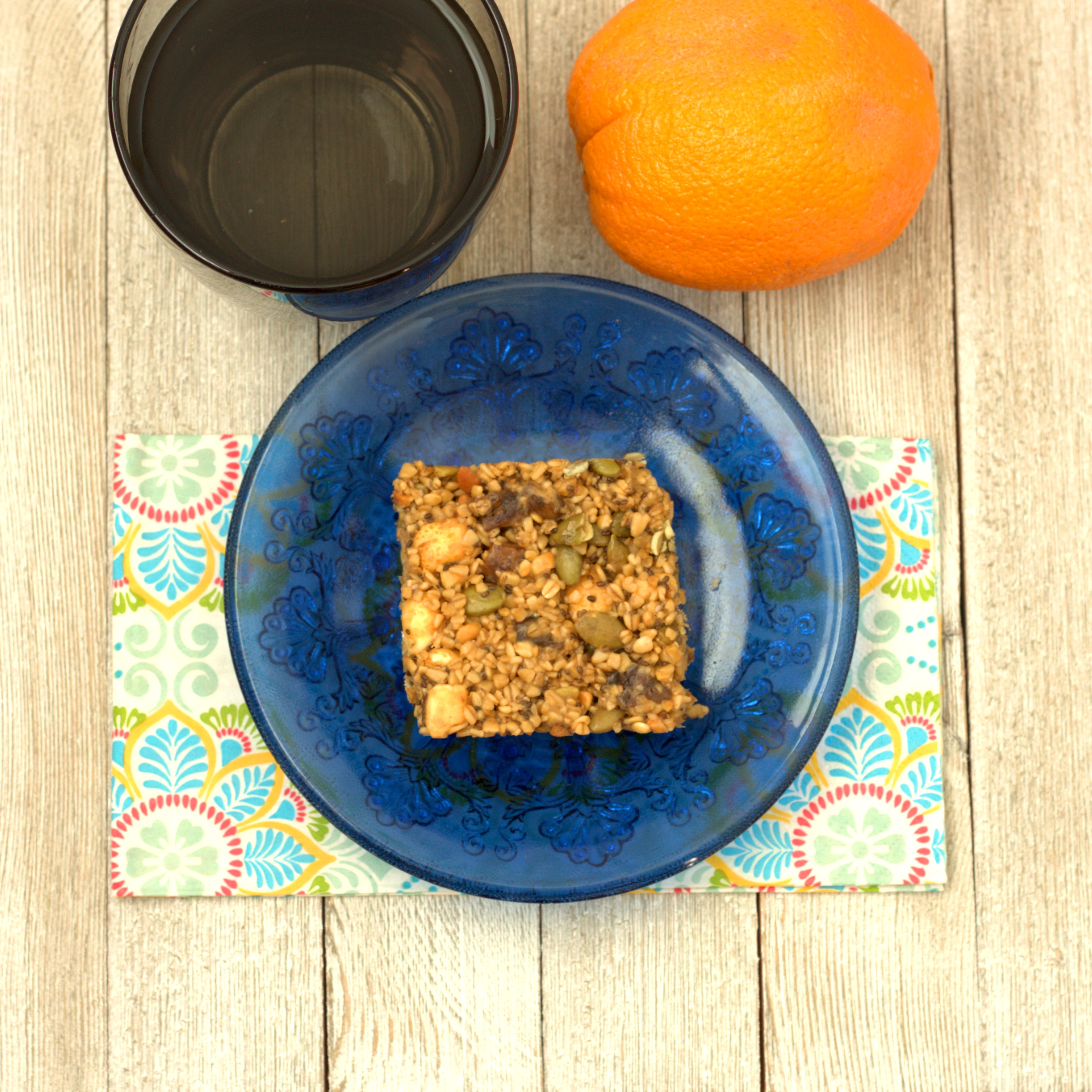 loaded PB granola bars