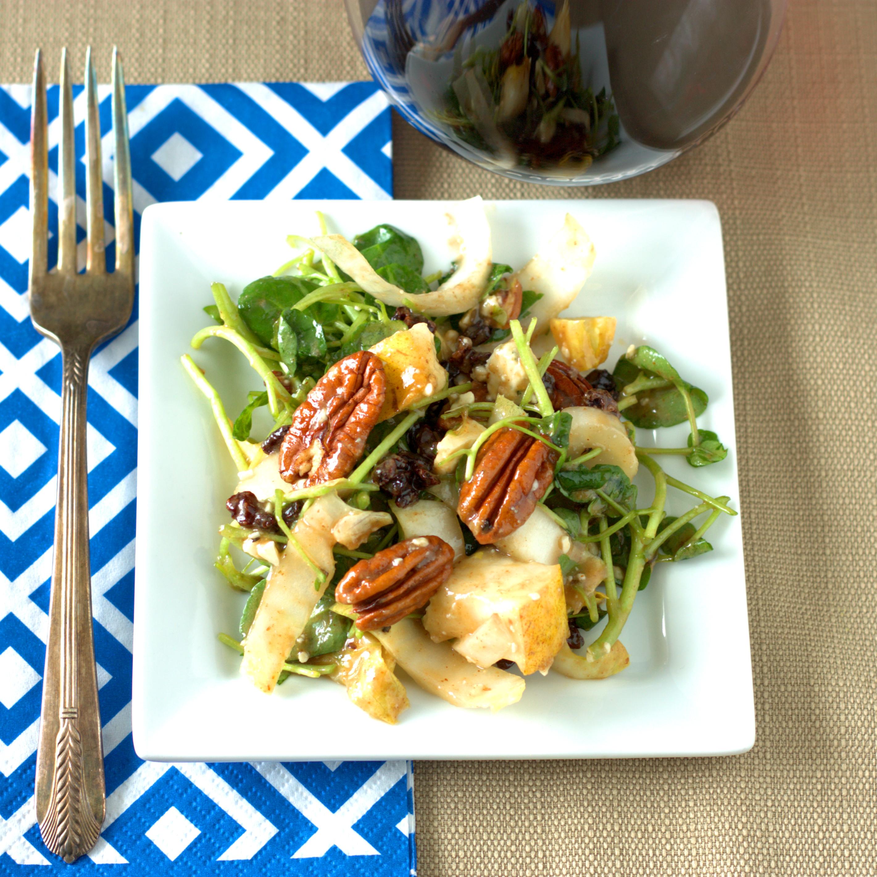 Endive and Watercress Salad