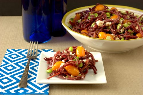 ultimate beet spiral salad